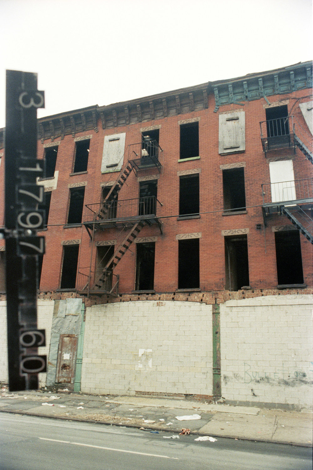 344 Nostrand Ave., mid-1980s. Photo: Department of Finance collection, NYC Municipal Archives.
