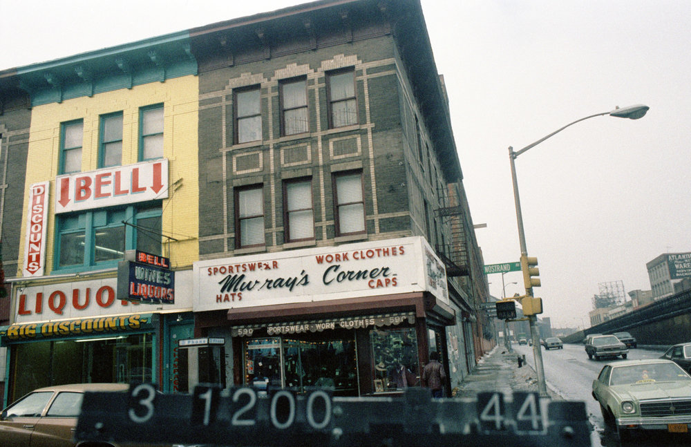 590 Nostrand Ave., mid-1980s. Photo: Department of Finance collection, NYC Municipal Archives.