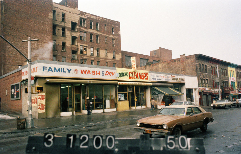 602 Nostrand Ave., mid-1980s. Photo: Department of Finance collection, NYC Municipal Archives.