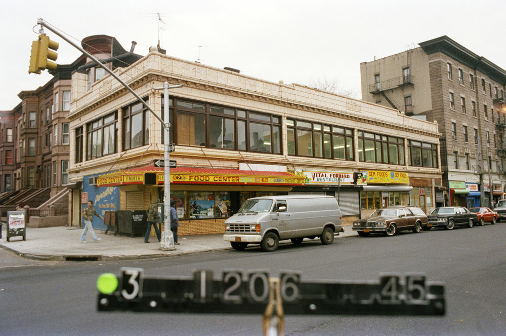 622 Nostrand Ave., mid-1980s. Photo: Department of Finance collection, NYC Municipal Archives.