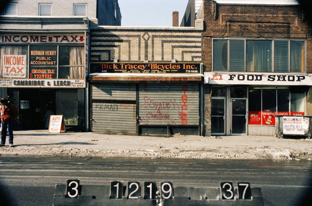 658 Nostrand Ave., mid-1980s. Photo: Department of Finance collection, NYC Municipal Archives.