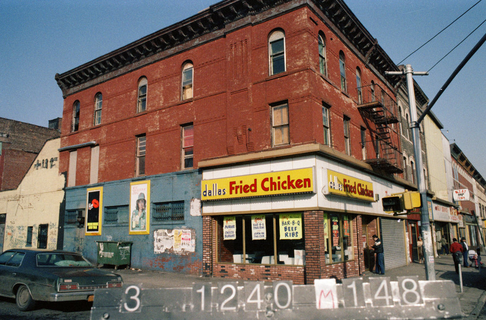 762 Nostrand Ave., mid-1980s. Photo: Department of Finance collection, NYC Municipal Archives.