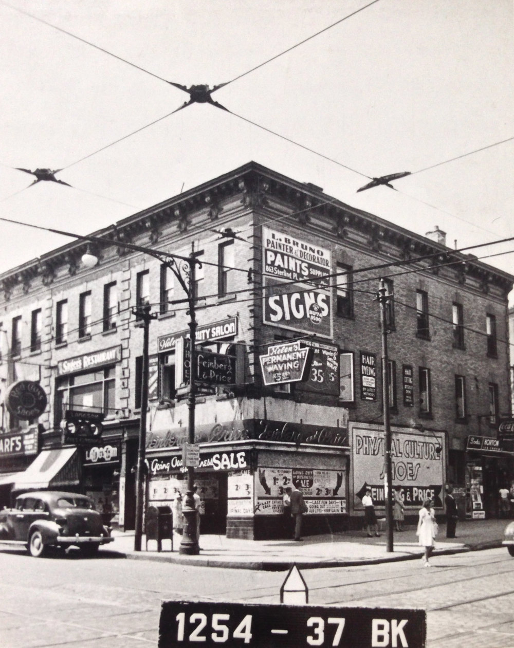 792 Nostrand Ave., early 1940s. Photo: Department of Finance collection, NYC Municipal Archives.