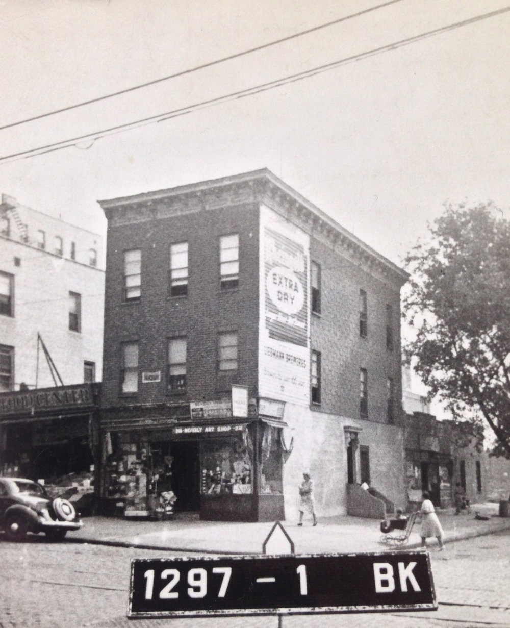 913 Nostrand Ave., early 1940s. Photo: Department of Finance collection, NYC Municipal Archives.