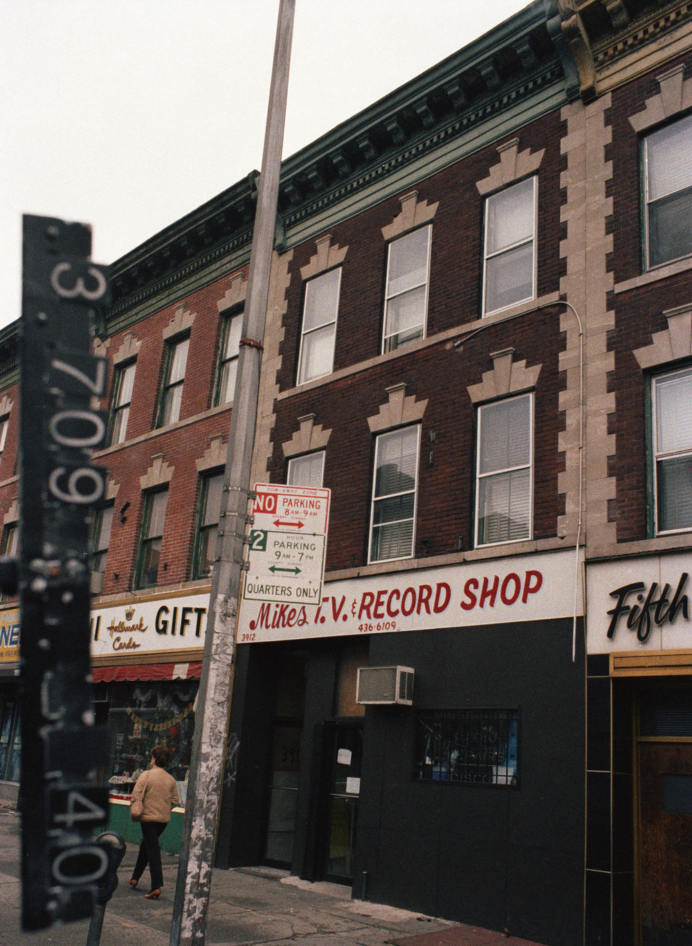 3912 5th Avenue, Brooklyn, NY, mid-1980s. Department of Finance Collection, NYC Municipal Archives.