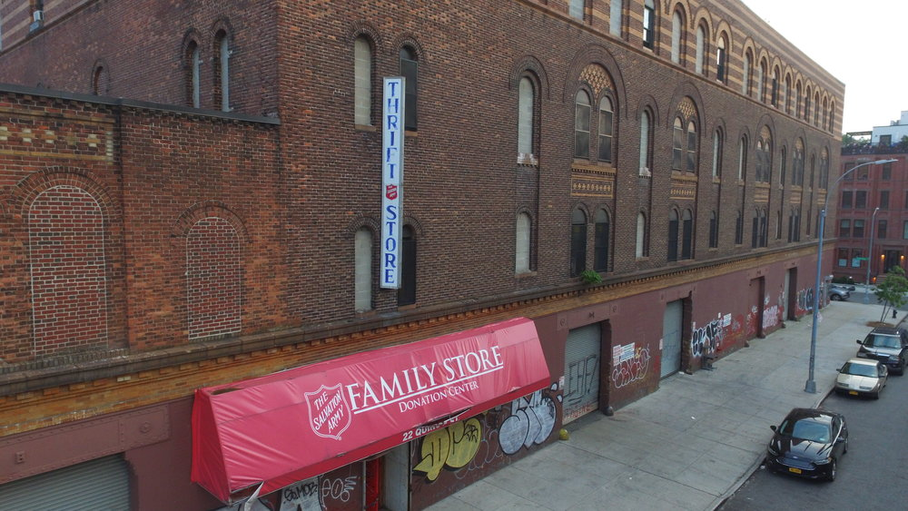 Salvation Army, 22 Quincy St.