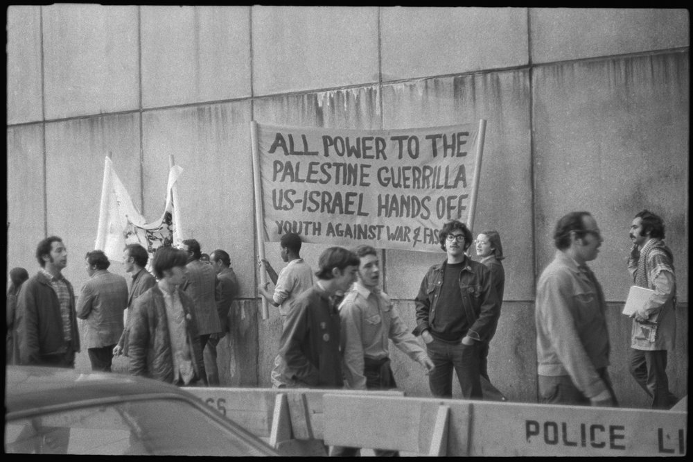 """Power to Palestine guerilla,"" October 23, 1970"