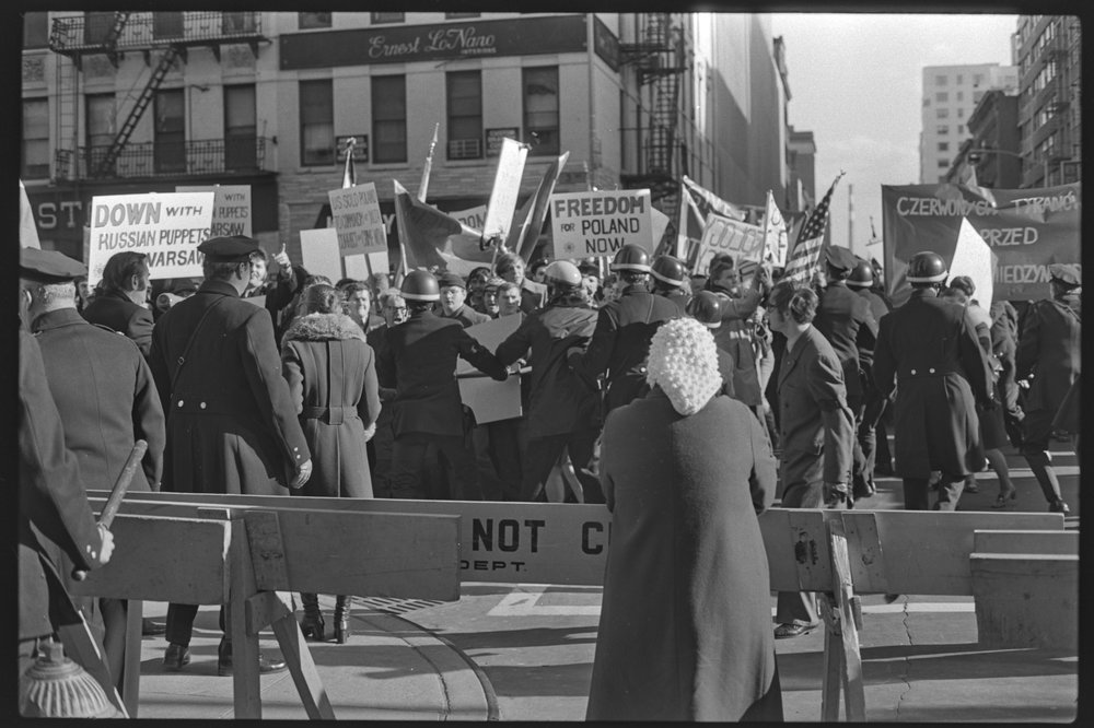 Russian Embassy Demonstration, December 20, 1970