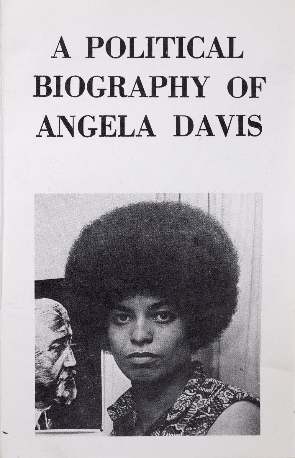 Angela Davis Pamphlet