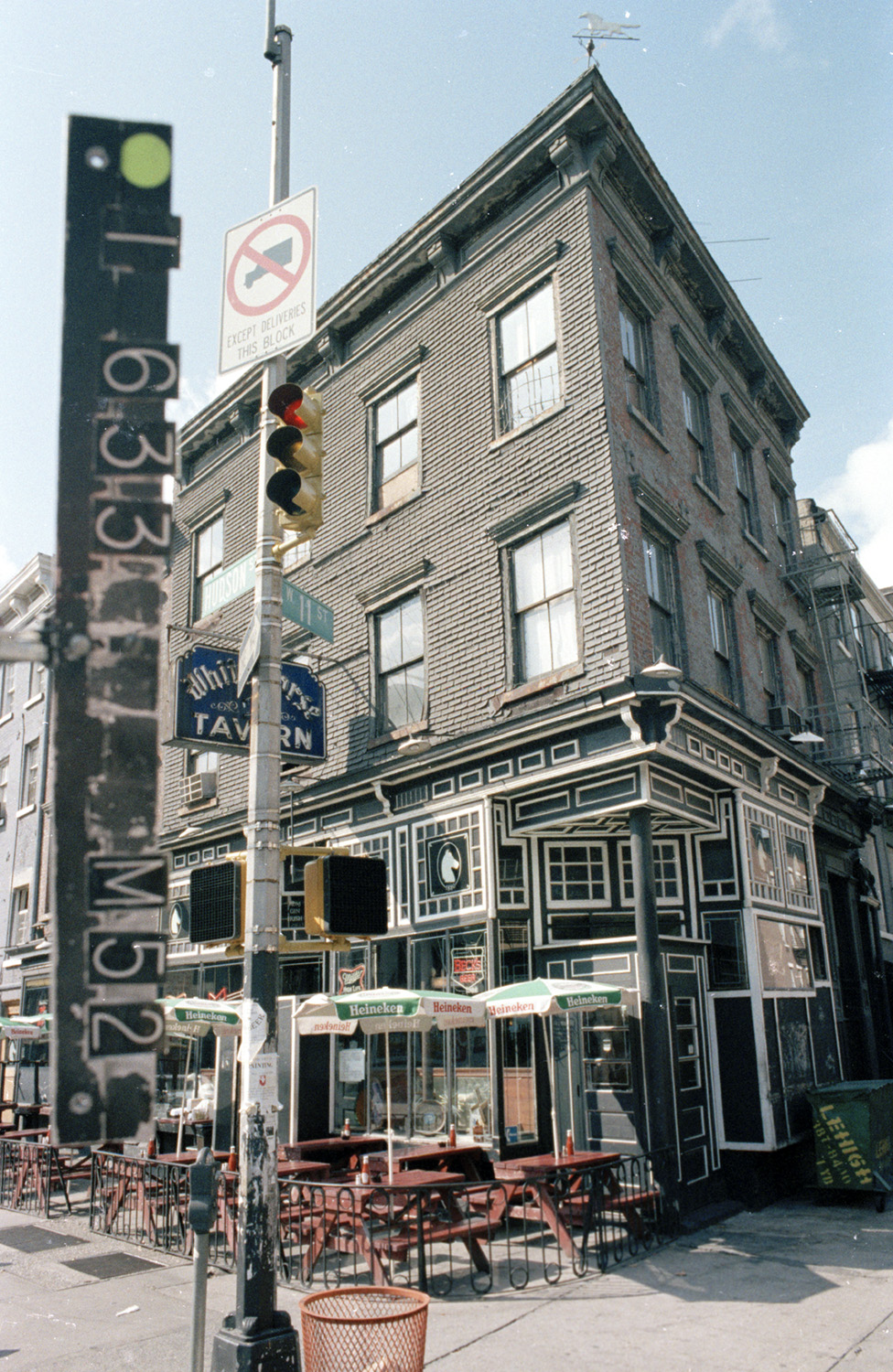 567 Hudson Street, circa 1985. Department of Finance Collection, NYC Municipal Archives.