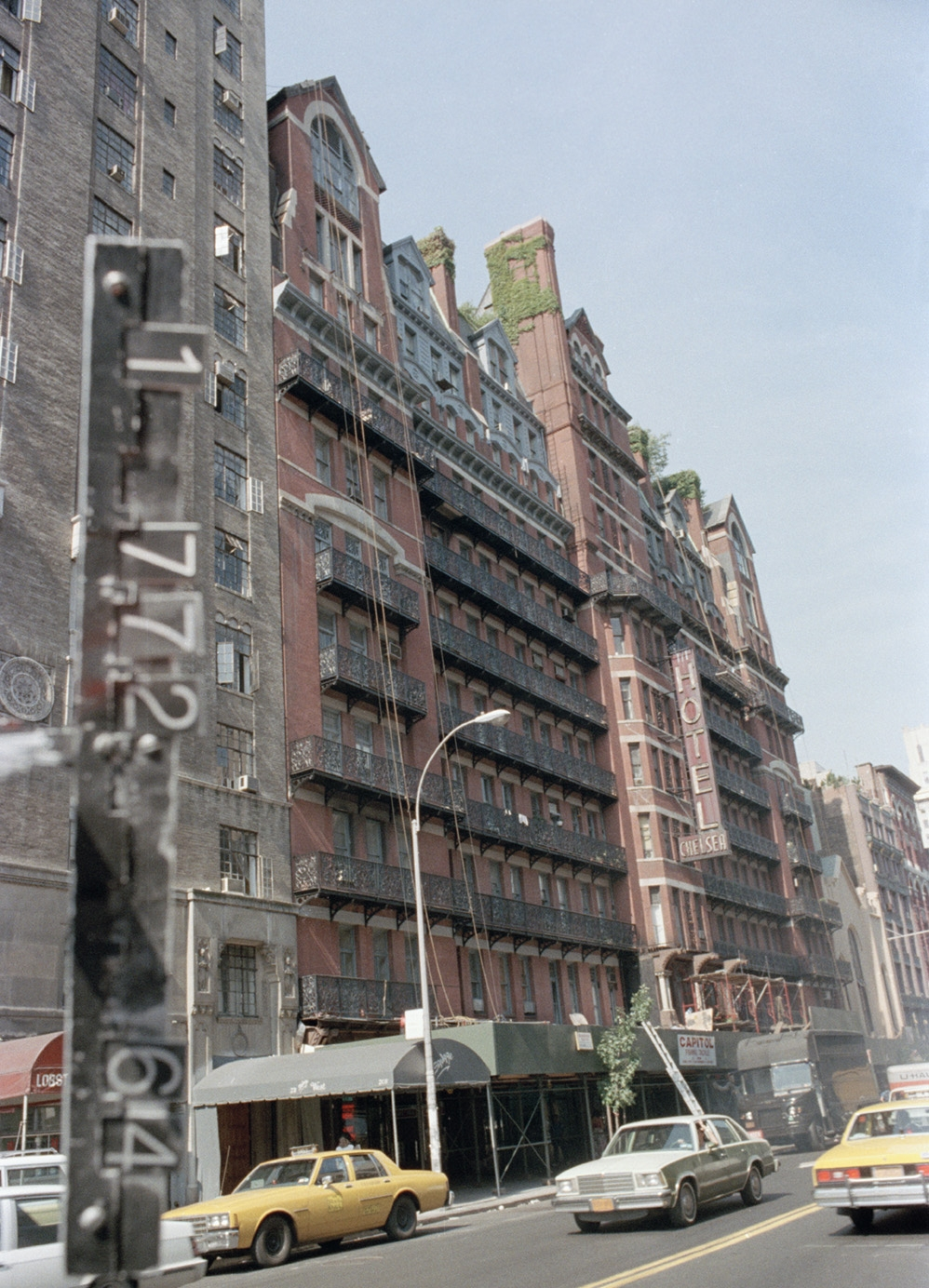 222 West 23rd Street, circa 1985. Department of Finance Collection, NYC Municipal Archives.