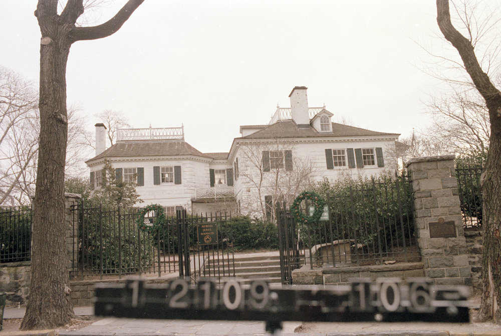 65 Jumel Terrace, circa 1985. Department of Finance Collection, NYC Municipal Archives.