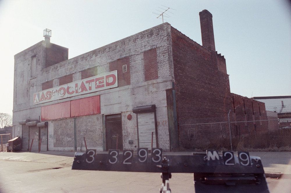 1289 Broadway seen here in the 1980s changed into an Associated Supermarket, which continues to operate in 2017. Department of Finance Collection, NYC Municipal Archives.