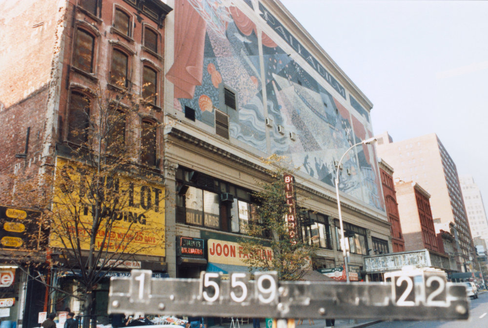 126-38 East 14th Street, the Palladium, ca. 1985. DOF Tax Photo Collection, NYC Municipal Archives.