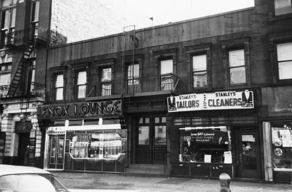 286-88 Lenox Avenue, Lenox Lounge, 1961. DOF Tax Photo Collection, NYC Municipal Archives.