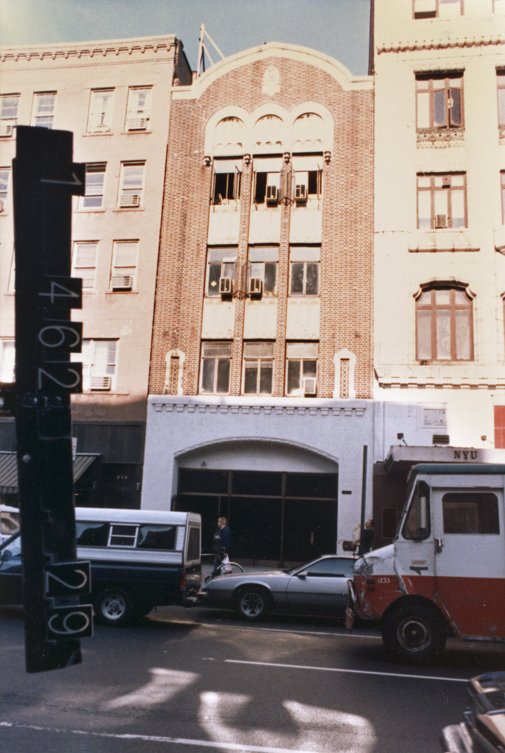 105 Second Avenue, ca. 1985. DOF Tax Photo Collection, NYC Municipal Archives.