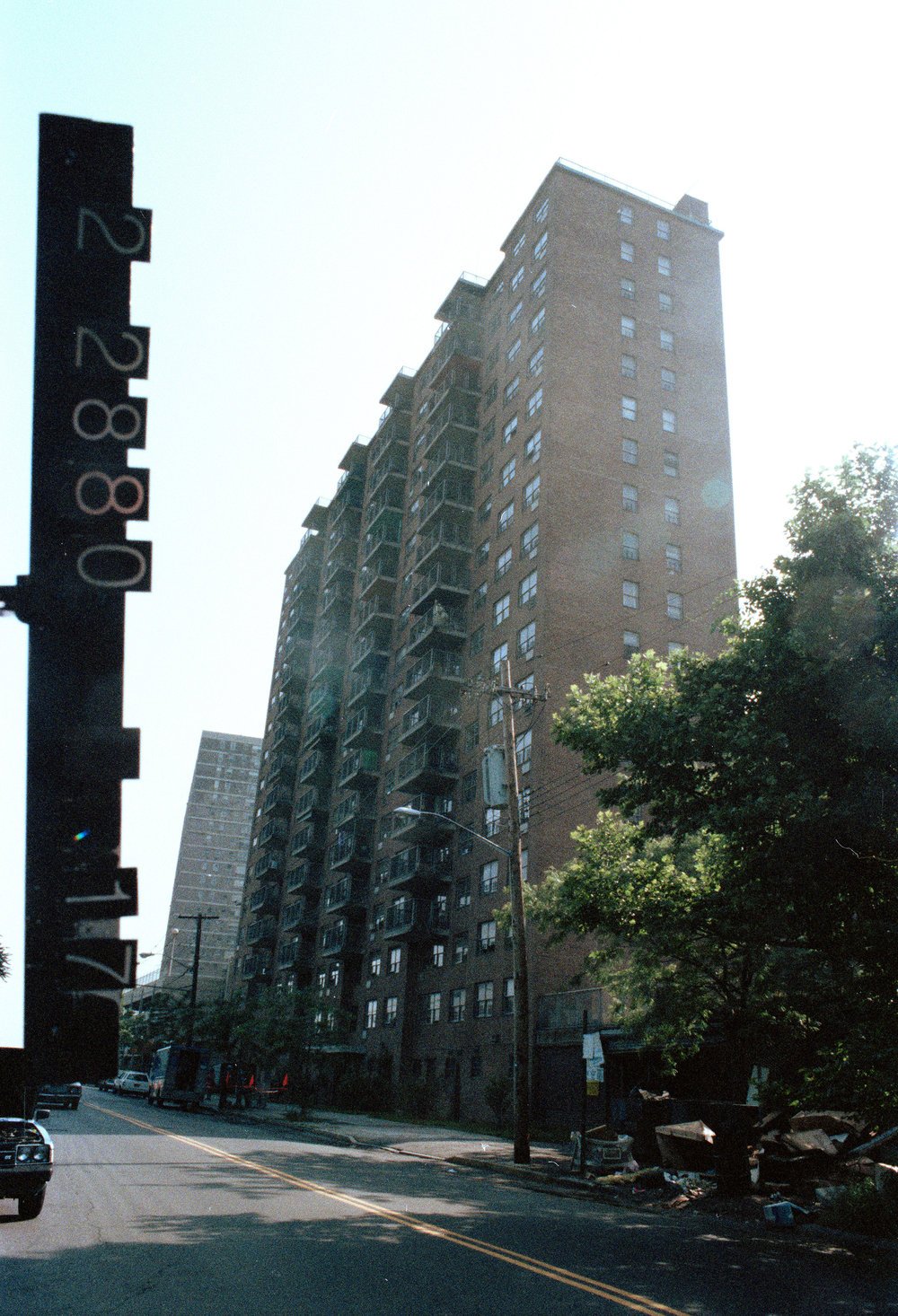 1520 Sedgwick Avenue, Bronx, ca. 1985. DOF Tax Photo Collection, NYC Municipal Archives.
