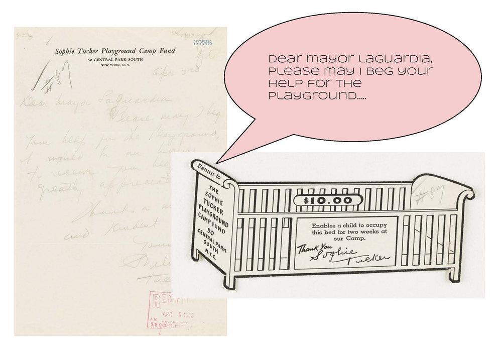 Sophie Tucker Playground, 1943 Mayor Fiorello H. LaGuardia Subject Files