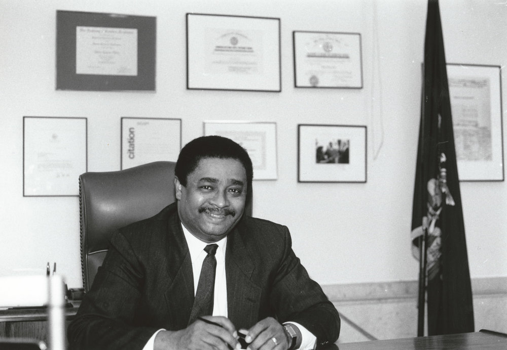 Idilio Gracia Peña Commissioner of the Department of Records and Information Services, 1990-1995.