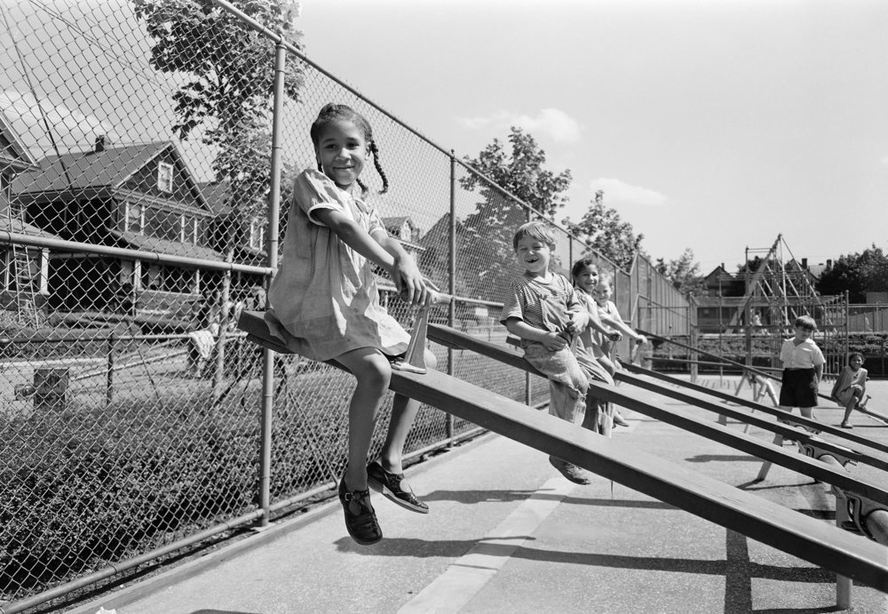 Mahoney Playground, Staten Island, 1940. Department of Parks & Recreation, NYC Municipal Archives.