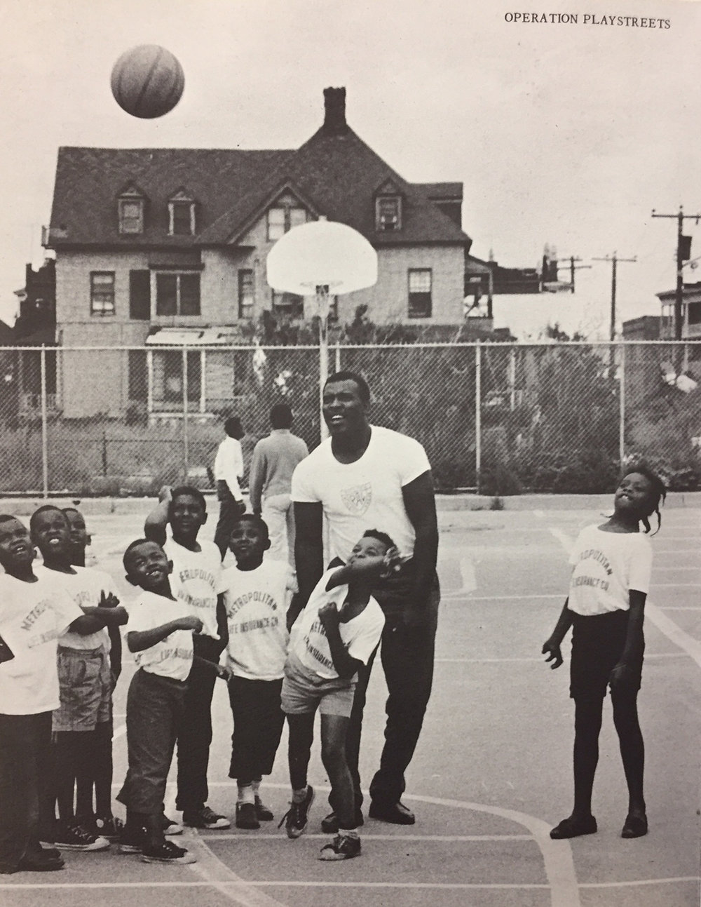 Police Athletic League playstreet in Far Rockaway, Queens.  Report of the Citizens Summer Committee, October 2, 1967 . NYC Municipal Library.