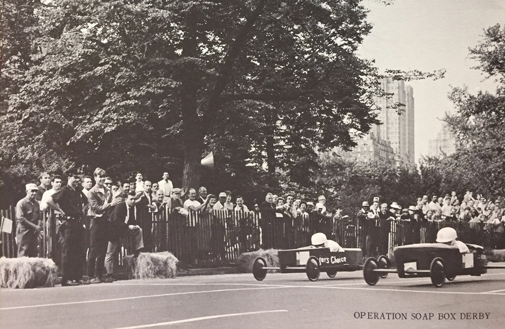 Operation Soap Box Derby, Central Park, August 12, 1967.  Report of the Citizens Summer Committee, October 2, 1967 . NYC Municipal Library.