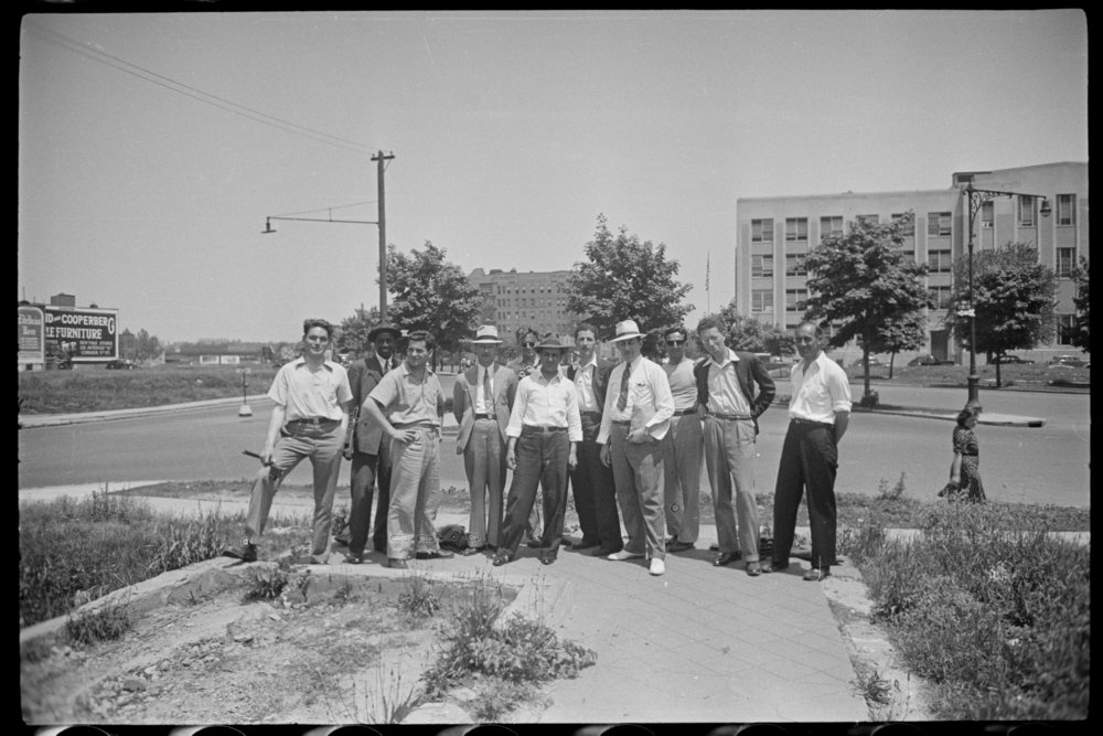 WPA tax photo employees, ca. 1940. Department of Finance Collection, NYC Municipal Archives.