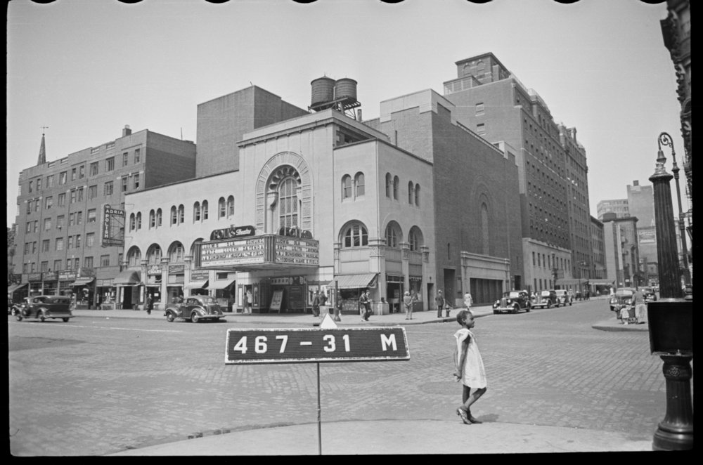 181-189 2nd Avenue, ca. 1940. Department of Finance Collection, NYC Municipal Archives.