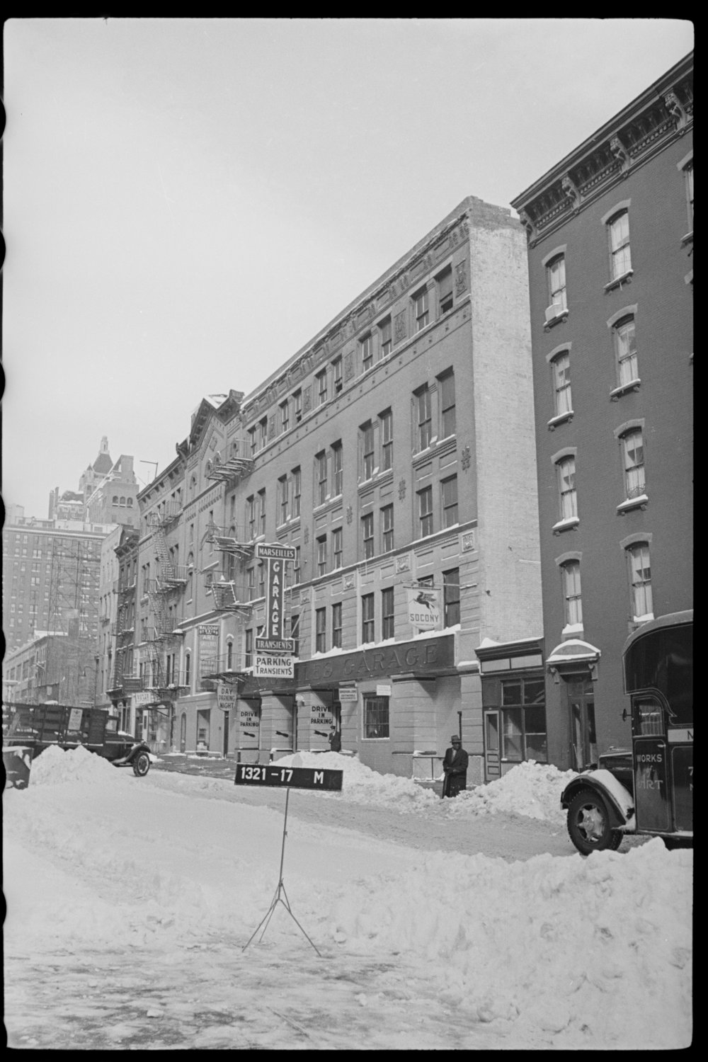 """The first Warhol """"Factory"""" was on the top floor of this building at 231 East 47th Street, until 1967. Department of Finance Collection, NYC Municipal Archives."""