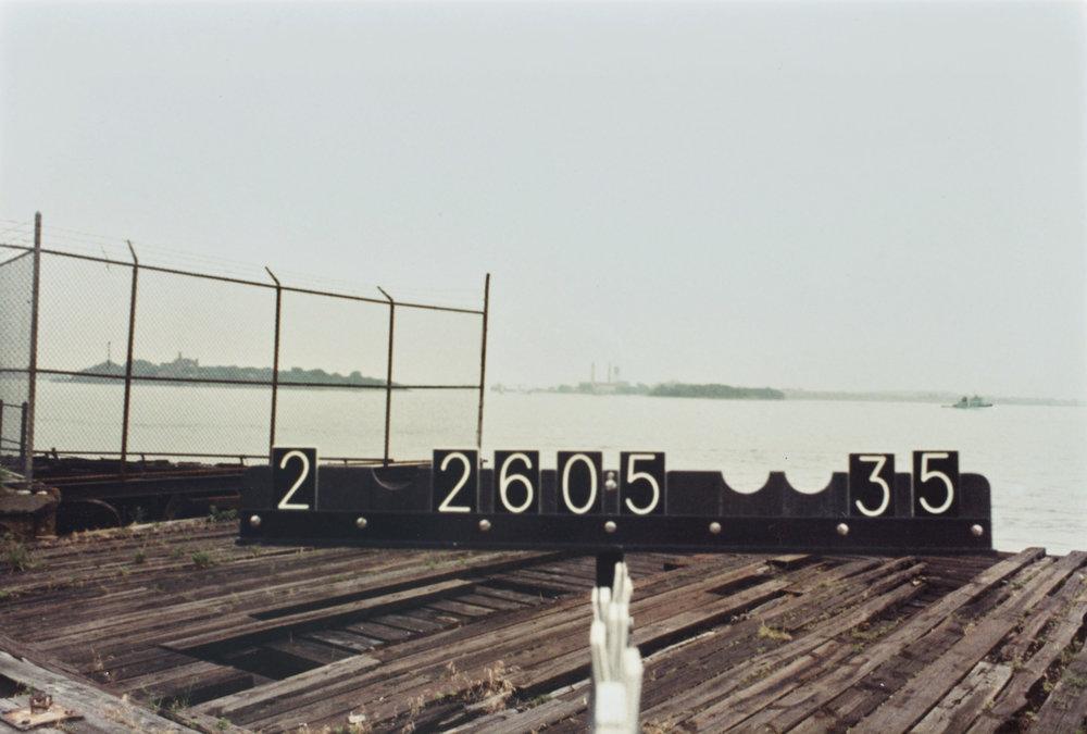 Rikers Island, 1980s Tax photograph. NYC Municipal Archives.