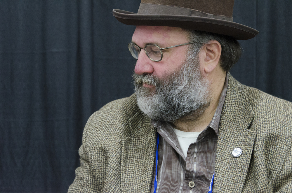 Comic book writer James Davidge at the 2014 Edmonton Expo