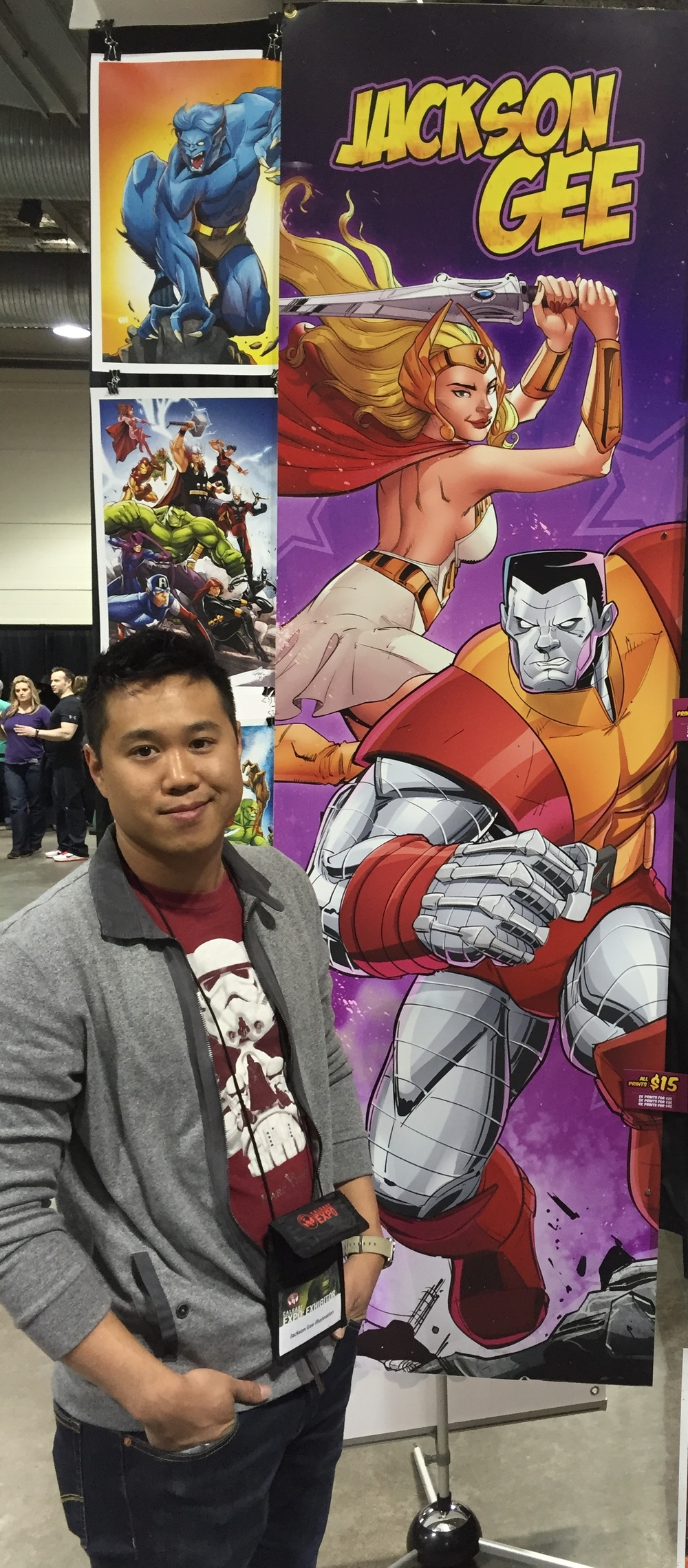 Jackson Gee at Calgary Expo 2016. (Photo credit: Chris Doucher/GeekNerdNet)