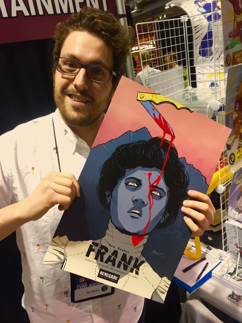 Ben Rankel at the 2016 Calgary Expo. (Photo credit: Chris Doucher/GeekNerdNet)