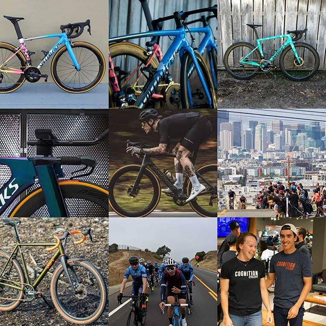 Thanks to everyone for making 2018 another great year of bikes and friends✌️ Here's to more riding in 2019! 🥂🎉 #cognitioncyclery #sanmateo #mountainview #happynewyear