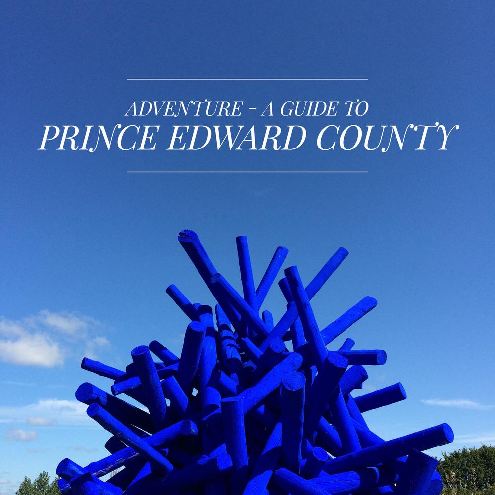Sculpture at Oeno Gallery + Garden, Huff Estates, Prince Edward County