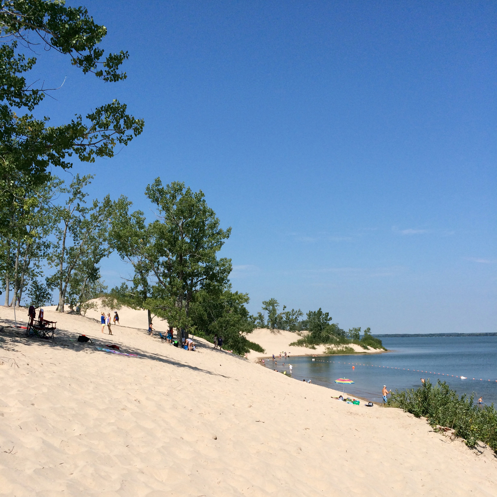 Sandbanks Provincial Park, Prince Edward County. RUN!