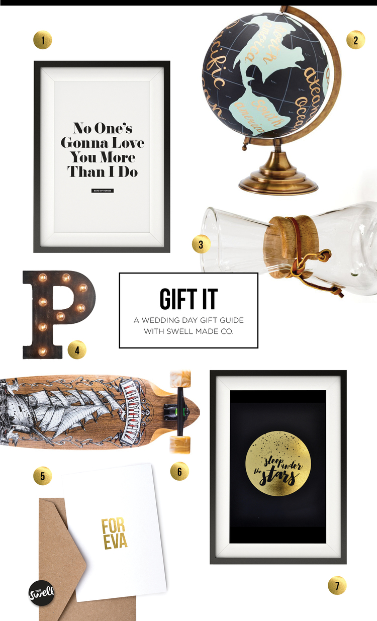 Gift It Wedding Day Swell Made Co Modern Paper Goods Home