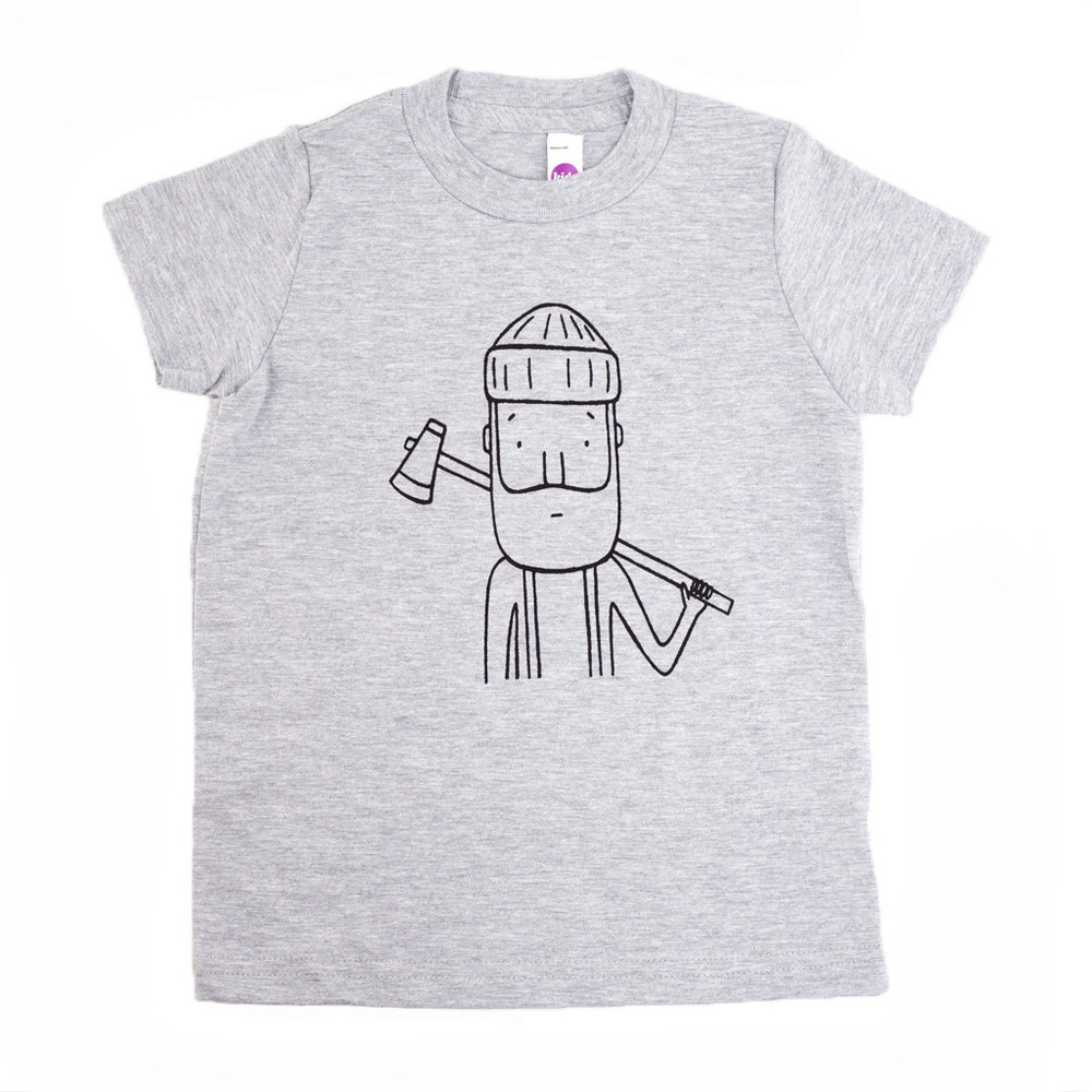 Lumberjack tee by Wild Kids Apparel