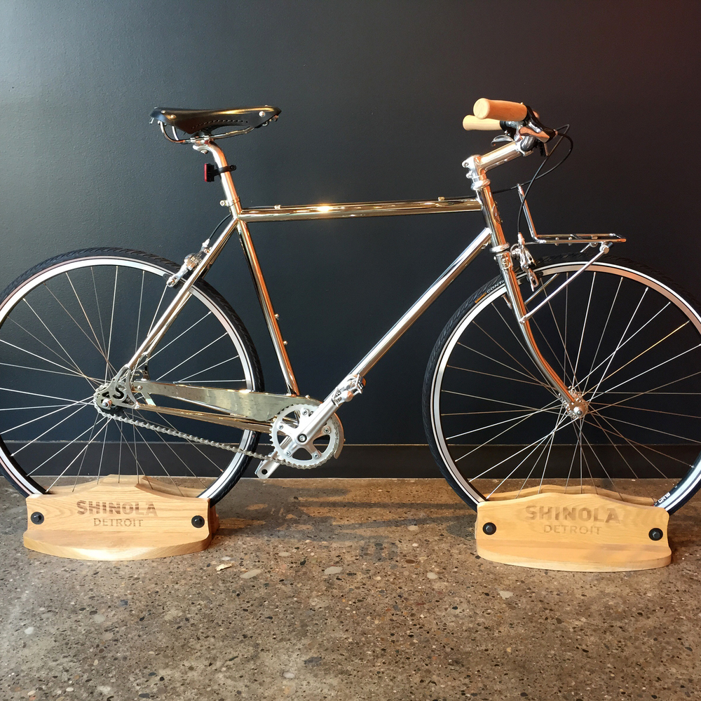 Bicycle beauty at Shinola.