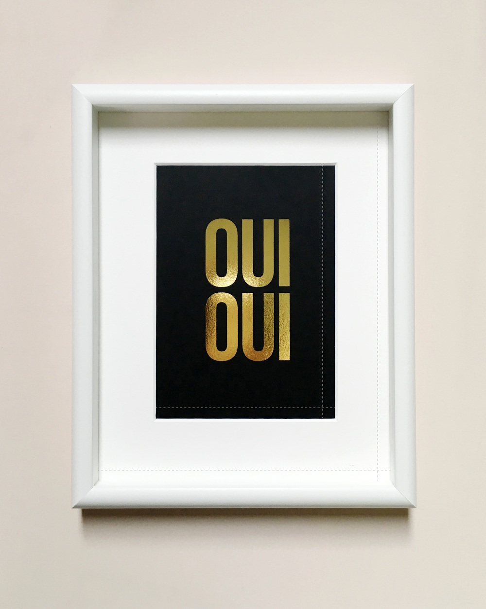 Framing an art print. A guide by Swell Made Co.