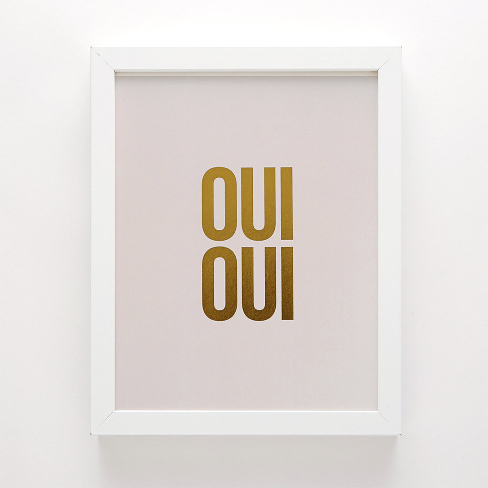 OUI OUI  by Swell Made Co.
