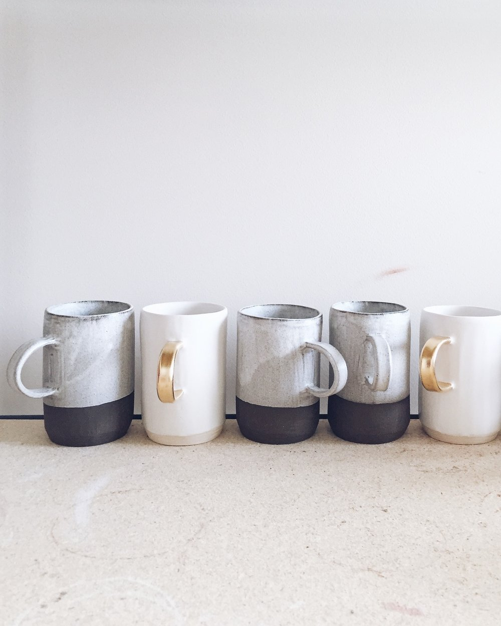 Ceramic Mugs by Arrow & Sage