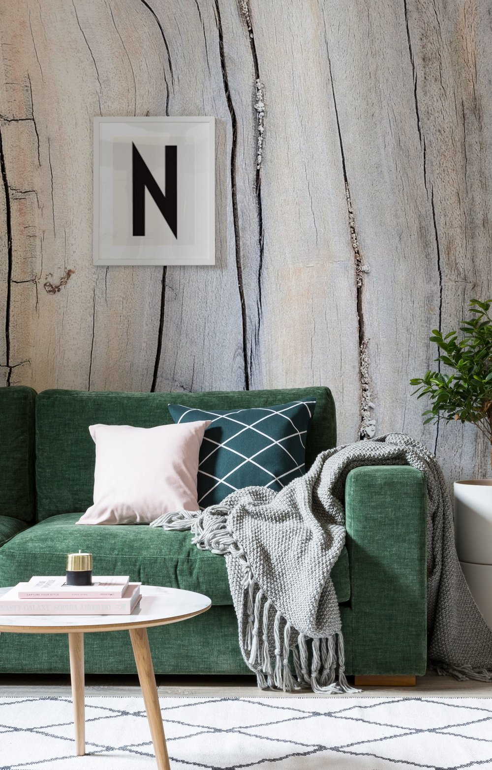 Hygge Home Wood Wall