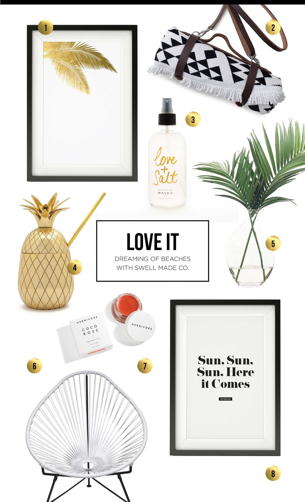 LOVE IT - Dreaming of beaches and the tropics with Swell Made Co.
