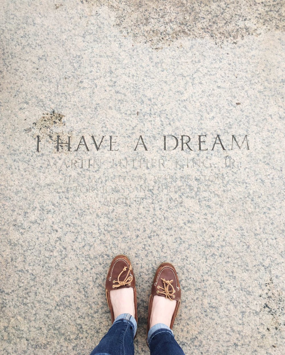 Adventures with Kids in Washington D.C. | Lincoln Memorial. Martin Luther King Jr. Quote.