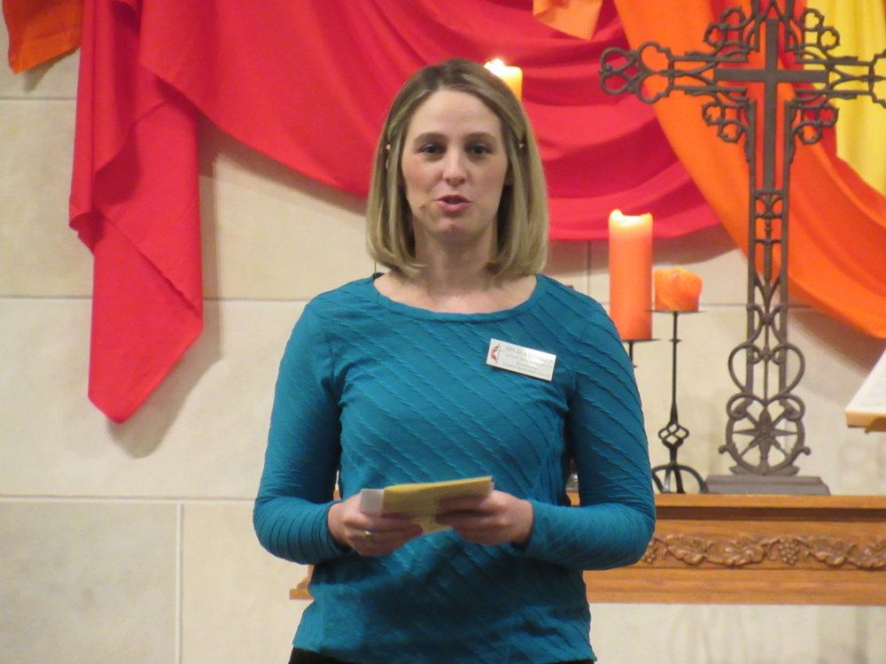 Rev. Jana Lunardon Associate Pastor of Dsicipleship