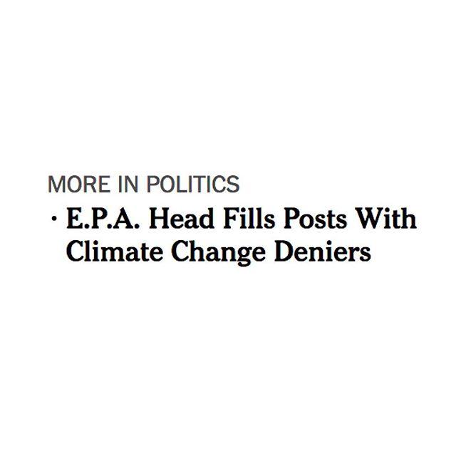 Yay. Not. 😒  #nyt #EPA #scottpruitt