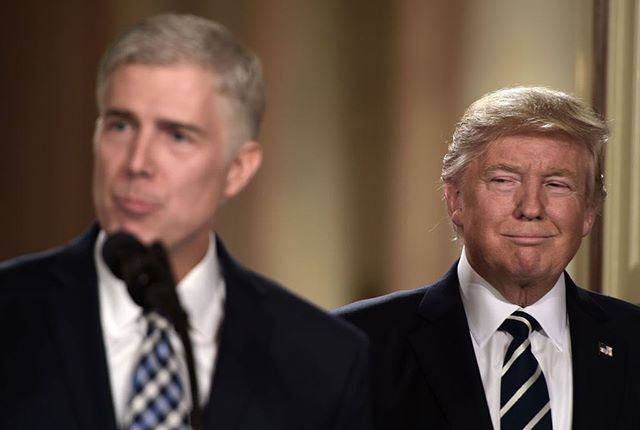 Bad for worker's rights, women's rights, and the environment... there's a reason he's Trump's pick. 😒#gorsuch #baddudes