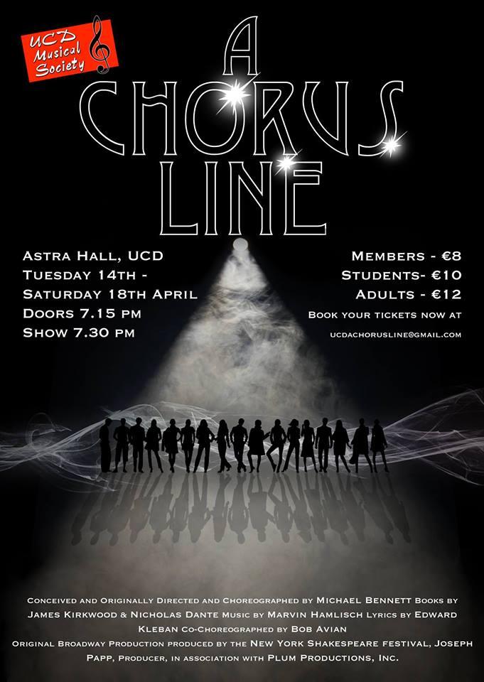 A Chorus Line, April 2015