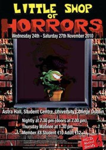 Little Shop of Horrors,  November 2010